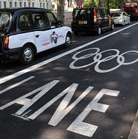 Thousands fined over Olympic Lanes