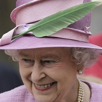 Queen travels in stylish supercar