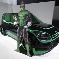 Motor show gets superhero makeover