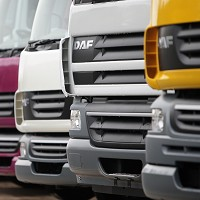 Big increase in sales of new trucks