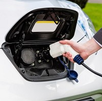 Electric car club for city drivers