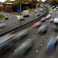 Motorway traffic heavier than ever