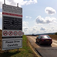 Man's private toll road gamble pays off