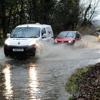 Motorists face 2-day road flood risk