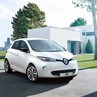 Electric car breaks new ground