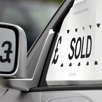 New car sales figures in upturn