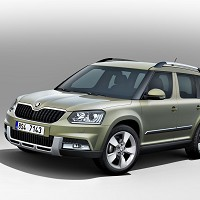 Skoda Yeti goes urban and rural