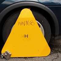 70% rise in vehicles being clamped