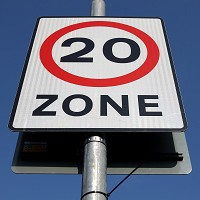 20mph schemes to be encouraged