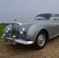 Classic Bentley at motor auction