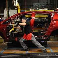Holidays put brakes on car production