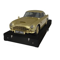 Bond's Aston Martin model on sale