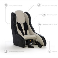 Volvo's inflatable child car seat