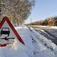 Snow and ice hit traffic levels