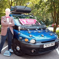 Dalek car tackles European rally