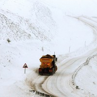 Drivers warned over gritted roads