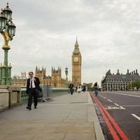 London roads 'empty for Olympics'