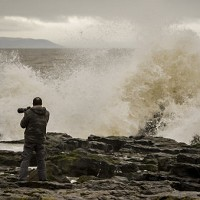 Blustery weather causes driving problems