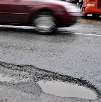 Roads 'catastrophic for drivers'