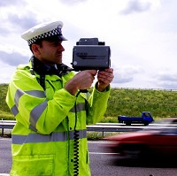Five drivers clocked over 100mph
