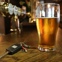 One in 25 fails drink drive test