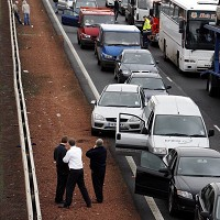Rise in delays caused by congestion