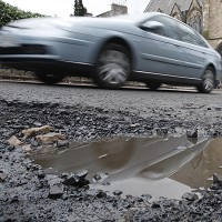 10.5bn needed to fix road network