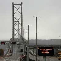 Bridge closure causes 11-mile tailback