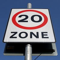 Charities want 20mph built-up zones