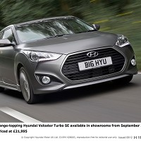 New Veloster hits roads next month