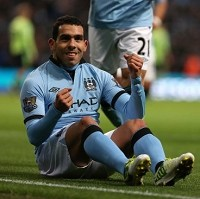 Tevez slapped with driving ban