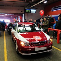 Kia auctions cars for Comic Relief