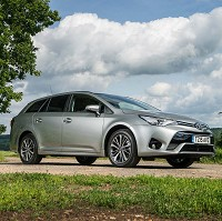 Avensis landmark for Toyota GB