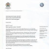 VW contacts scandal-hit customers