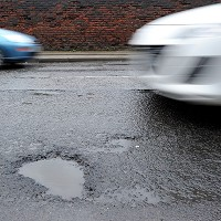 Potholes 'still a major problem'