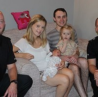Police help mum give birth in car