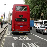 Fewer buses and lorries on roads