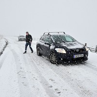 Drivers warned over wintry weather