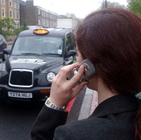 Warning over phones left in taxis