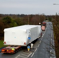Abnormal load to cause road delays