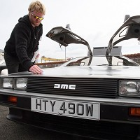 University to unveil electric DeLorean