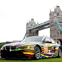 BMW Art Car exhibition revealed
