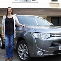 Mum running SUV for free