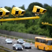 Grey speed cameras to be painted yellow