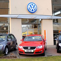 Volkswagen showroom gets revamp