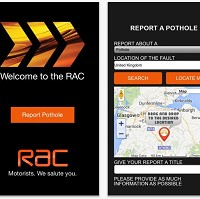 New RAC app fighting pothole plague