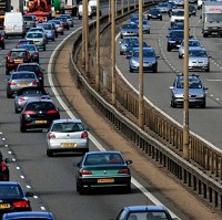 Brits 'sit in traffic for a year'