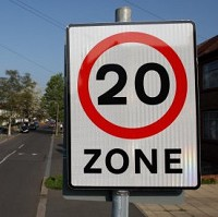 Rise in accidents on 20mph roads