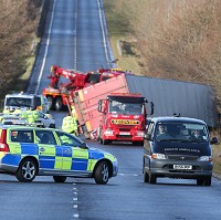 Sharp fall in fatal HGV accidents