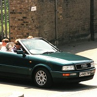 Diana's droptop Audi up for auction